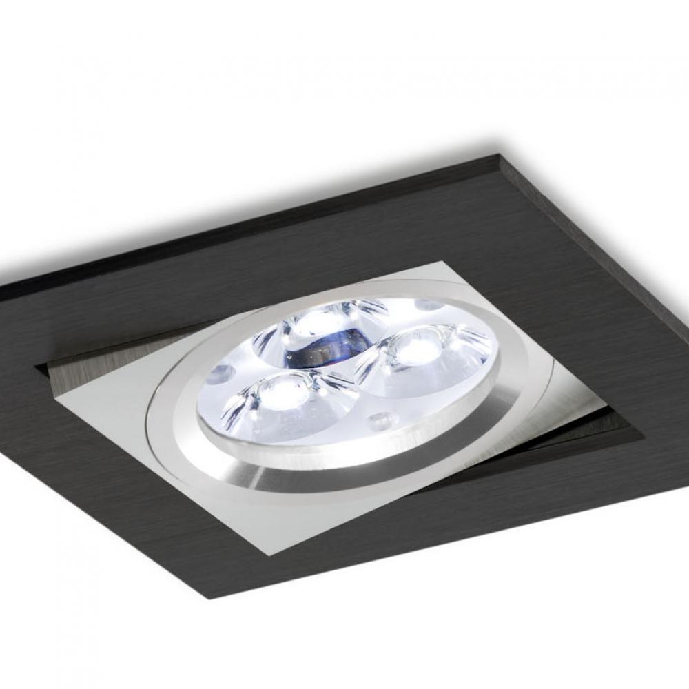 bpm lighting 3002 empotrable cuadrado de 1 luz gx5 3 3002. Black Bedroom Furniture Sets. Home Design Ideas