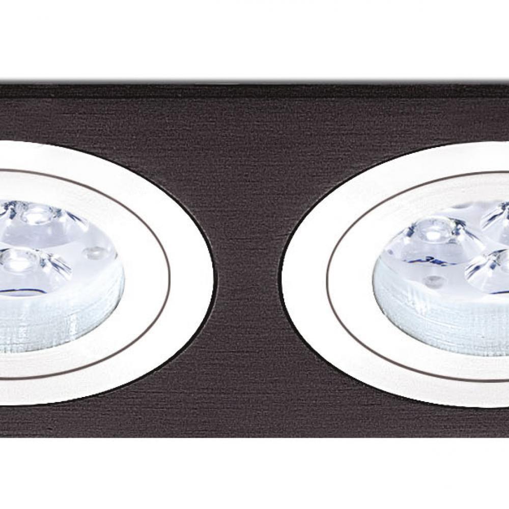 bpm lighting 3055 recessed of 2 lights rectangulares 3055. Black Bedroom Furniture Sets. Home Design Ideas