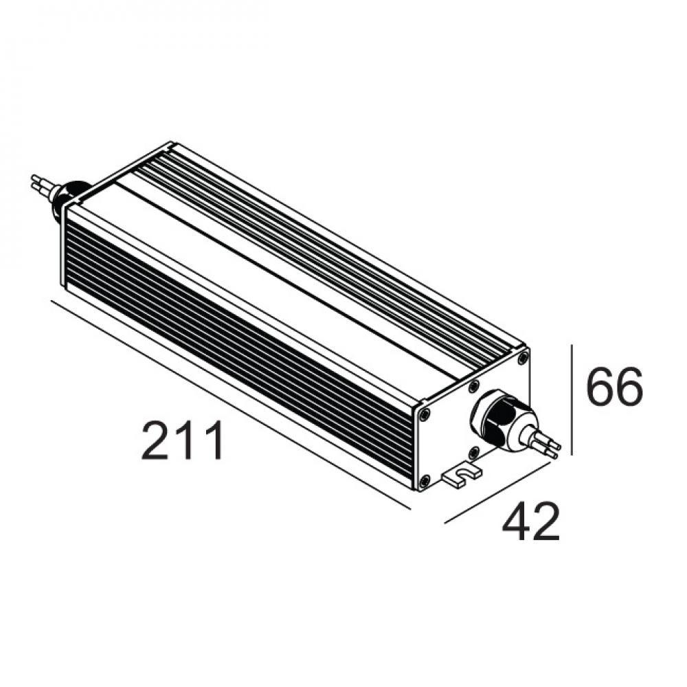 delta light led power supply 24v dc    150w 300