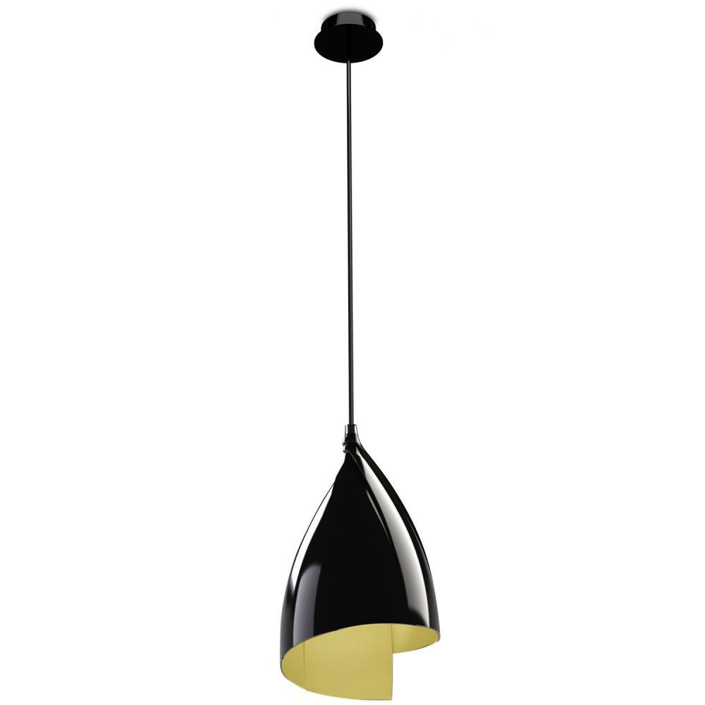 Grok Tulip Pendant Lamp 1xe27 Max 23w Black 00 4416 05 23