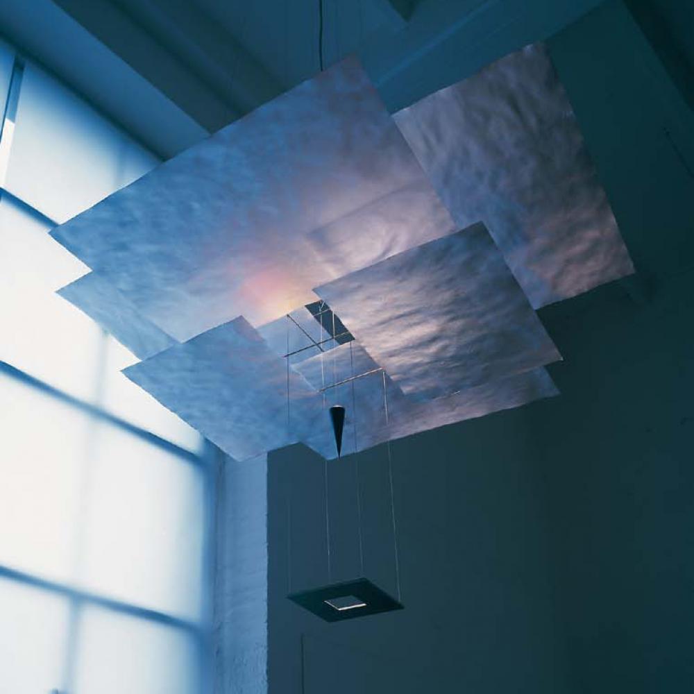 ingo maurer kabir gold suspensi n mau110440 l mparas de dise o. Black Bedroom Furniture Sets. Home Design Ideas