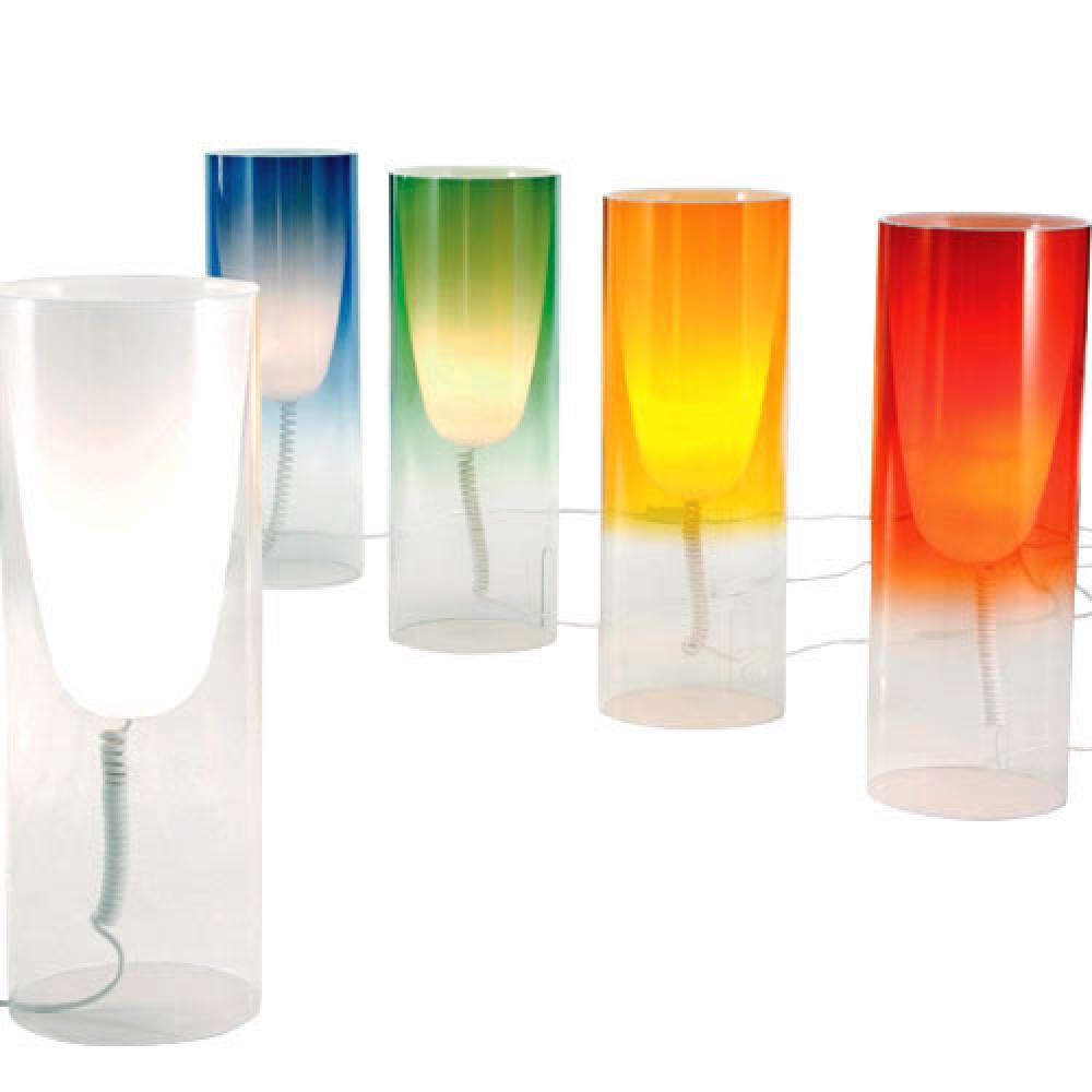 Kartell Toobe Table Lamp E27 Globo 15w Led 9065 L 225 Mparas
