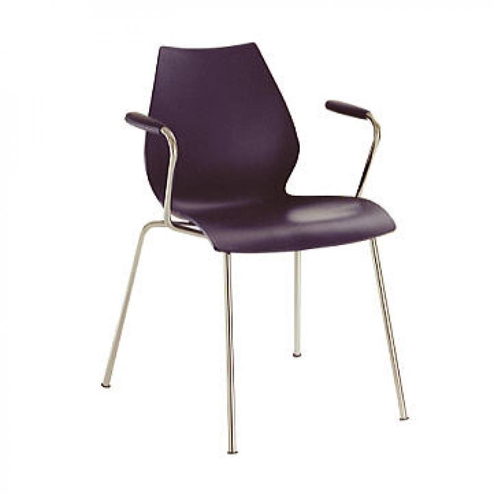 Maui chaise avec bras (2 unités d´emballage)