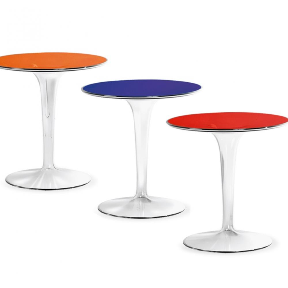 Kartell tiptop auxiliaryy table 48cm 8600 l mparas de for Table kartell