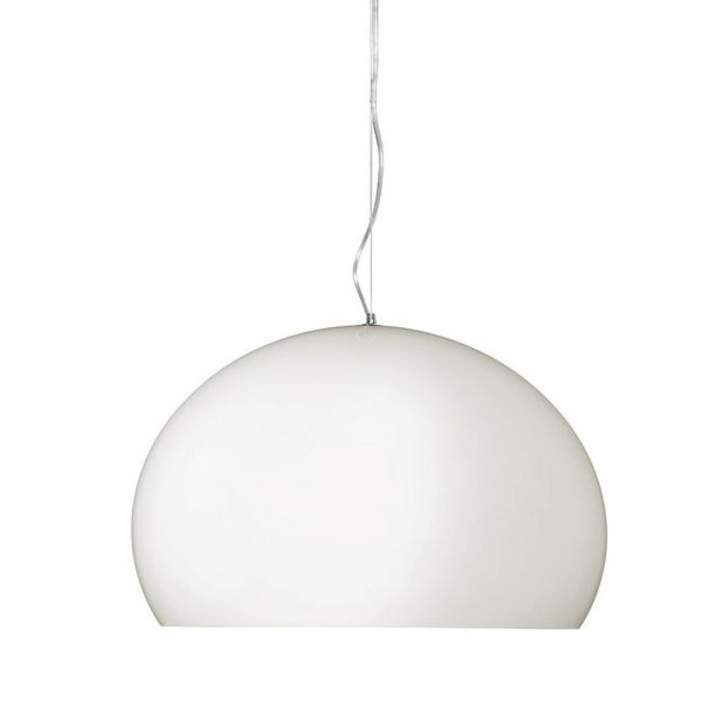 kartell fl y lampe suspension barnizada e27 led 9038. Black Bedroom Furniture Sets. Home Design Ideas