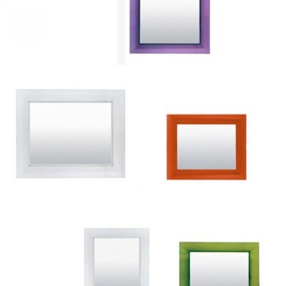 Kartell francois ghost spiegel gro 88x111cm 8310 - Spiegels kartell ...