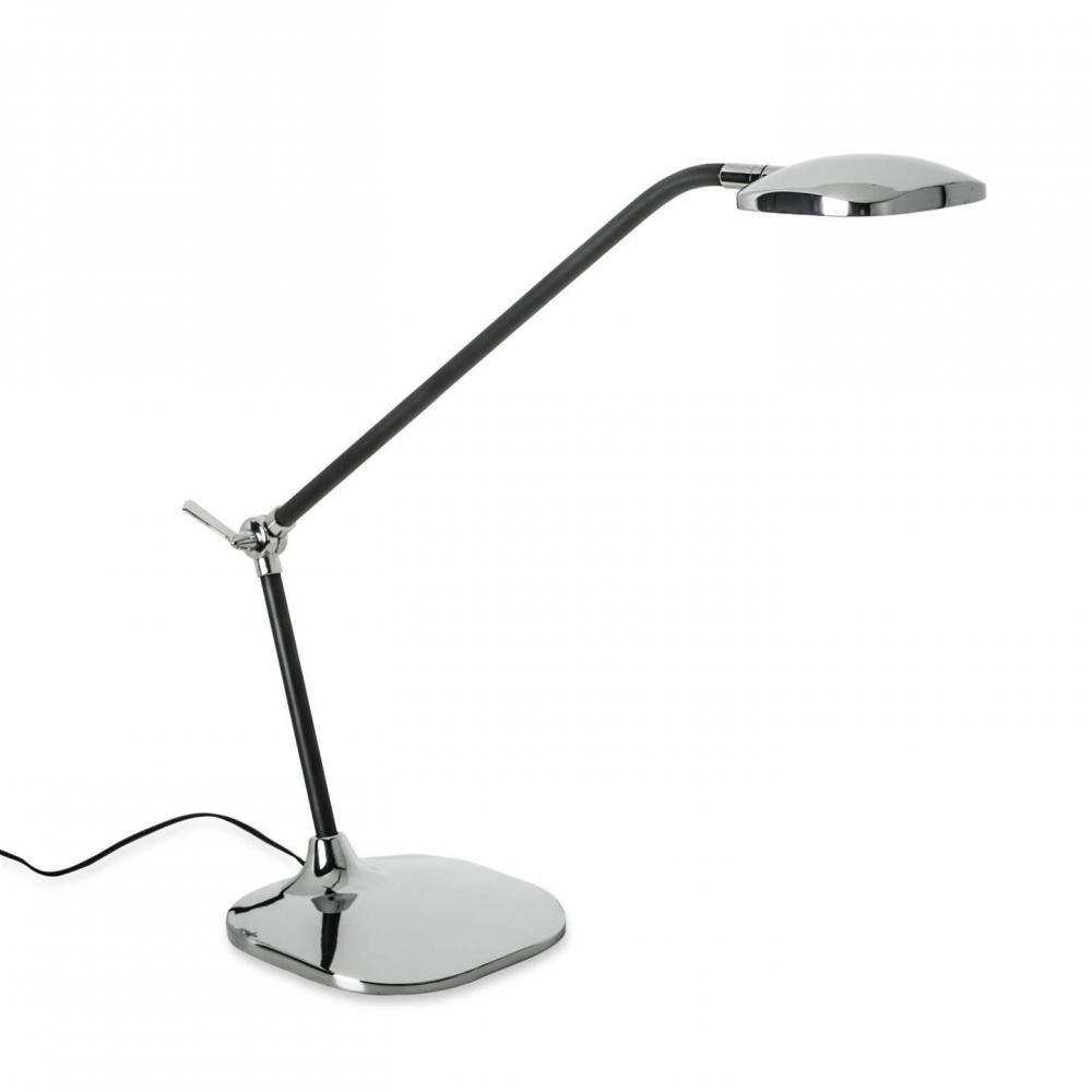 Ulysses Chrome Table Lamp: La Creu Queen Table Lamp LED 6,9W 3000K 10-3273-21-05