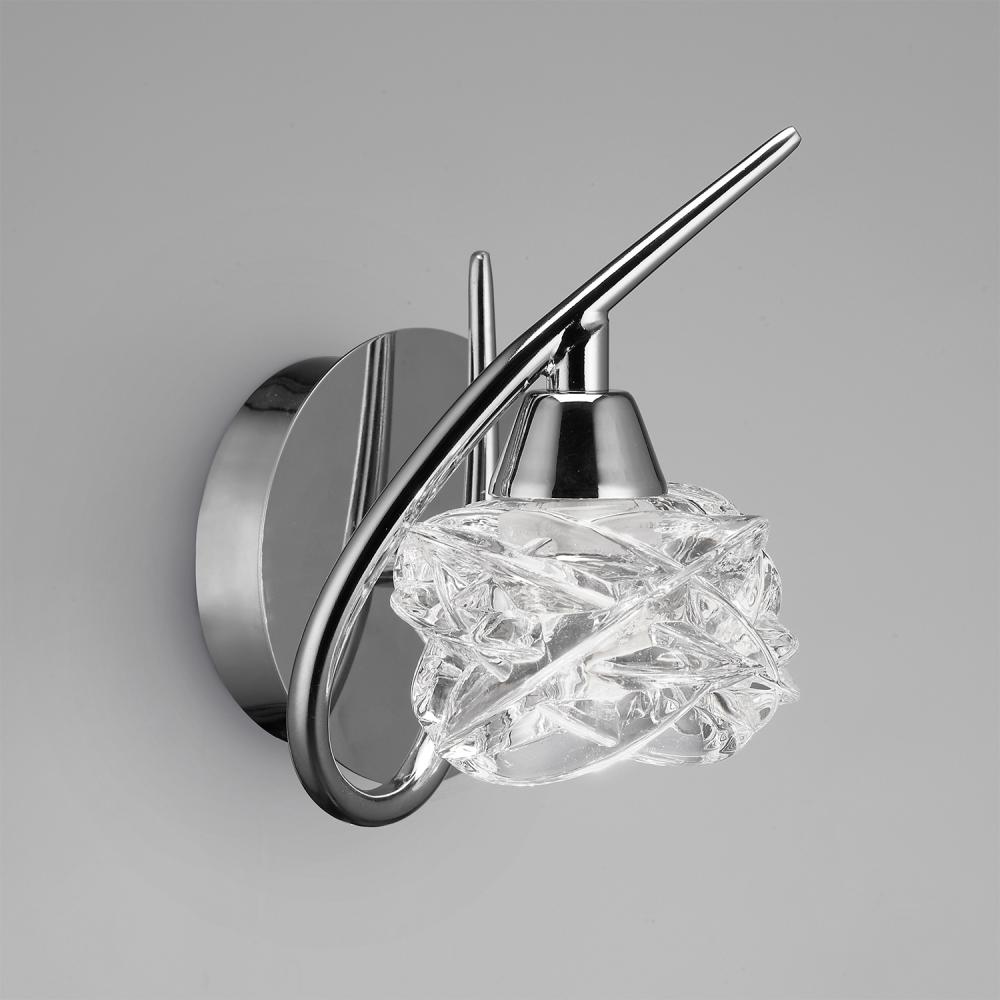Mantra Maremagnum Wall Lamp 1l 1xg9 33w Chrome 3948