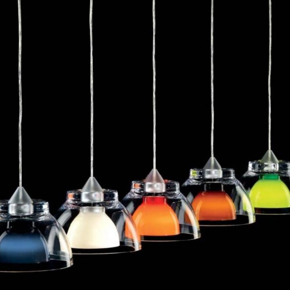 Lámpara Gilda 15w Transparenteblanco Colgante E27 HWEDIY29