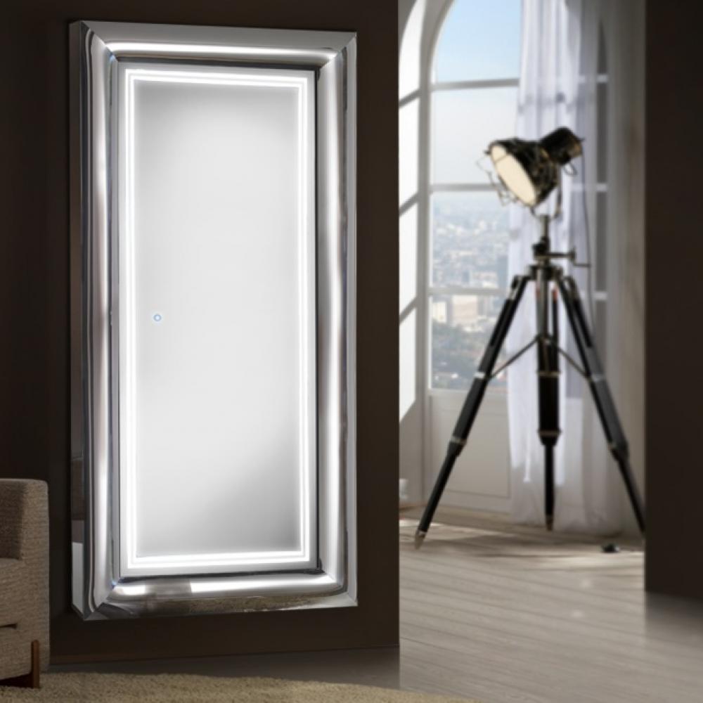 Schuller berlin espejo iluminado led 43w 474482 l mparas - Lamparas para espejos ...