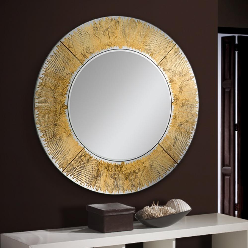 Schuller aurora espejo redondo 100x100cm pan 593375 for Espejo redondo