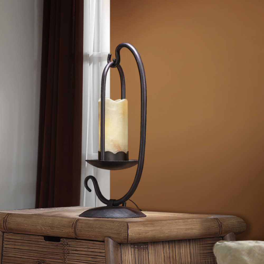 Candela Lamp Lámparas Oxide E27 De Schuller Table Led Brown 670922 lK1FJc