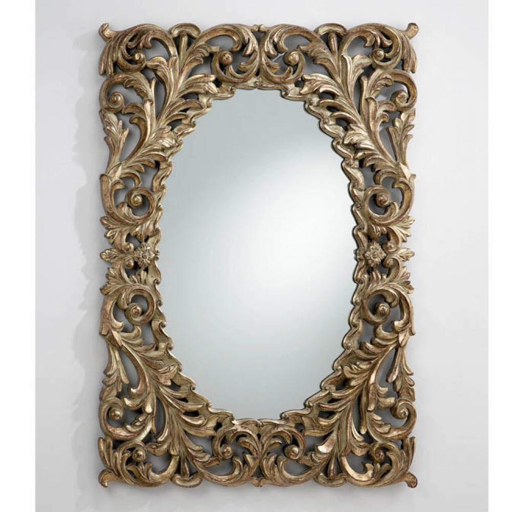 Schuller luna miroir ovale avec cadre 309912 l mparas de for Schuller miroir