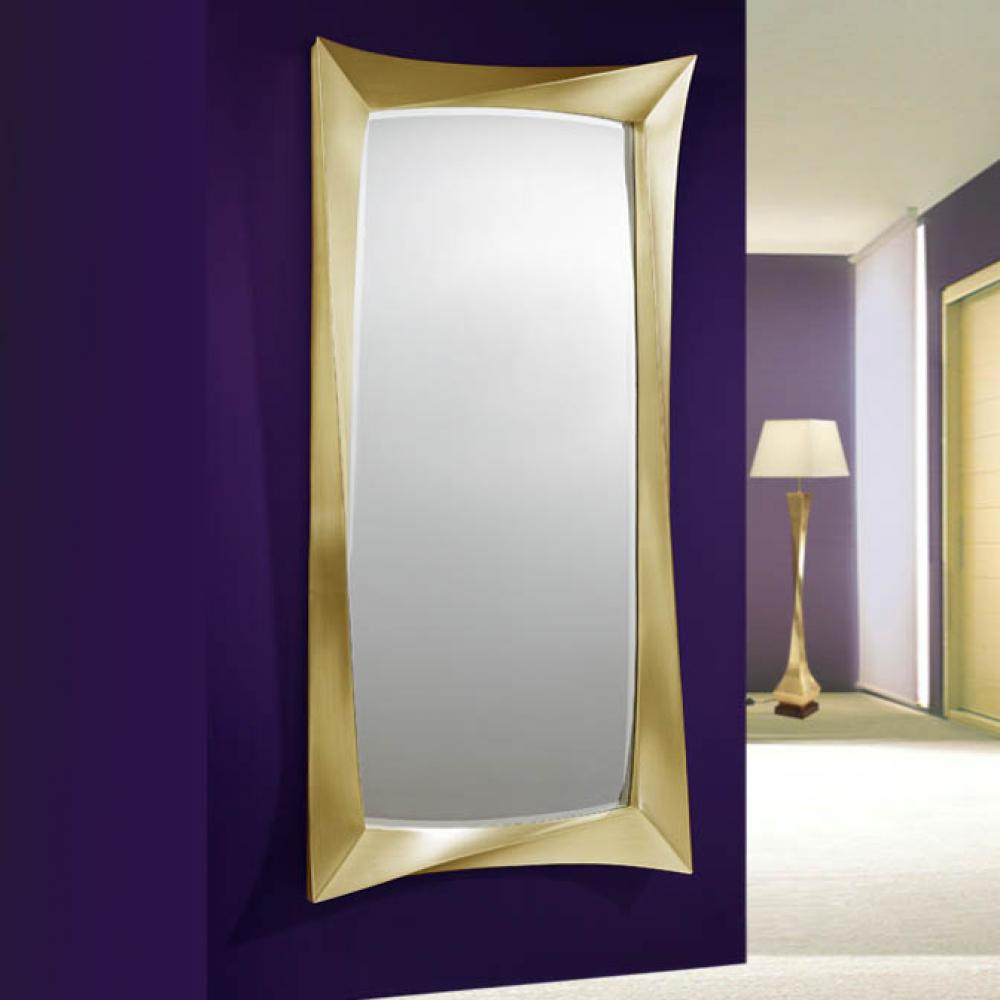 Schuller espejo cuadrado pan de oro grande 343522 l mparas de dise o - Espejos cuadrados grandes ...