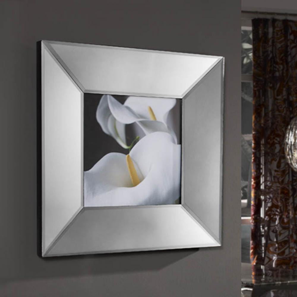 Schuller marco espejo con lmina fotogrfica calas 386234 - Lamparas para espejos ...