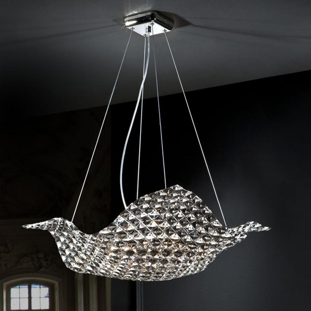 Schuller sat n l mpara colgante 8xg9 led 6w 160897 - Diseno lamparas colgantes ...