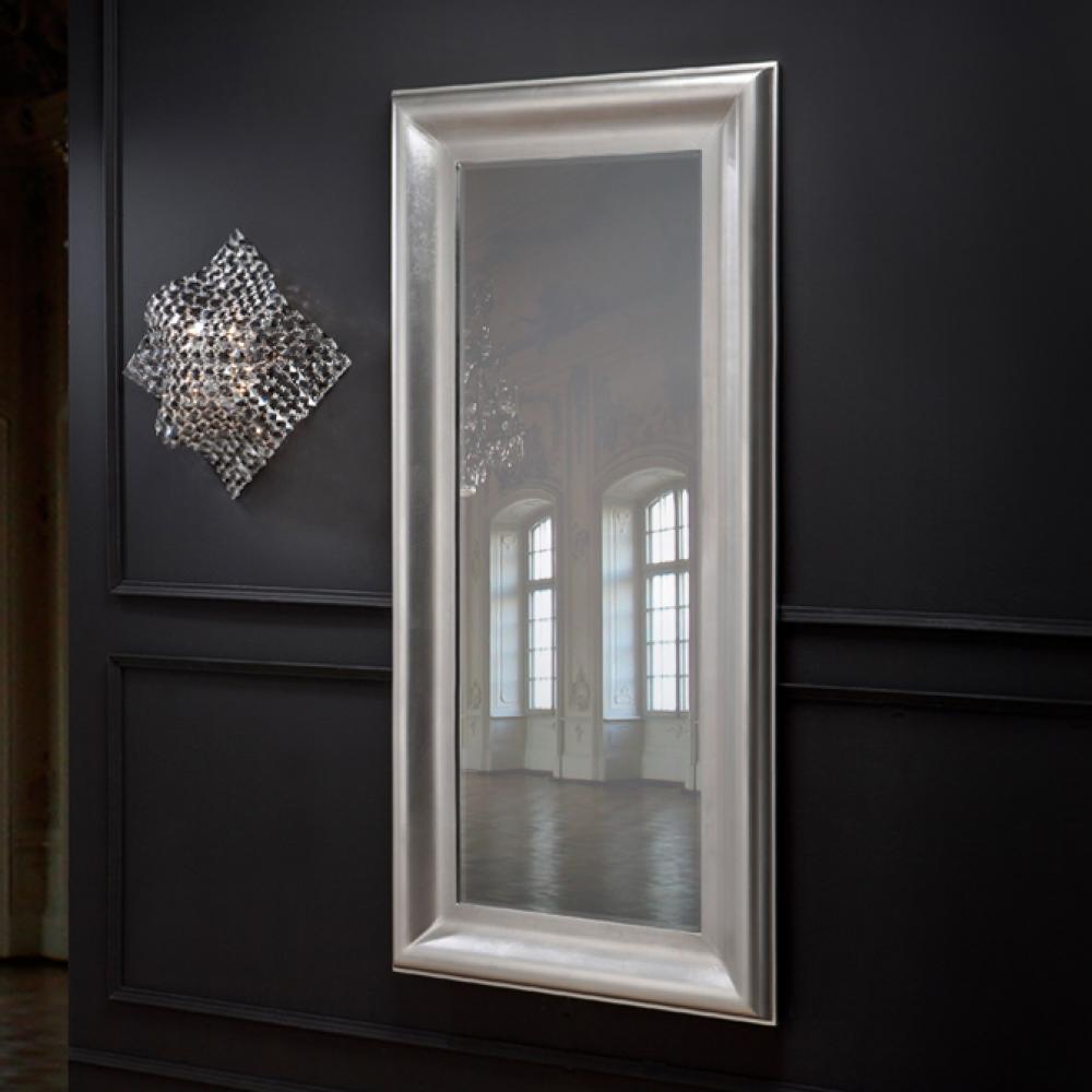 Schuller aral espejo plata rectangular grande 833041 for Espejo rectangular grande