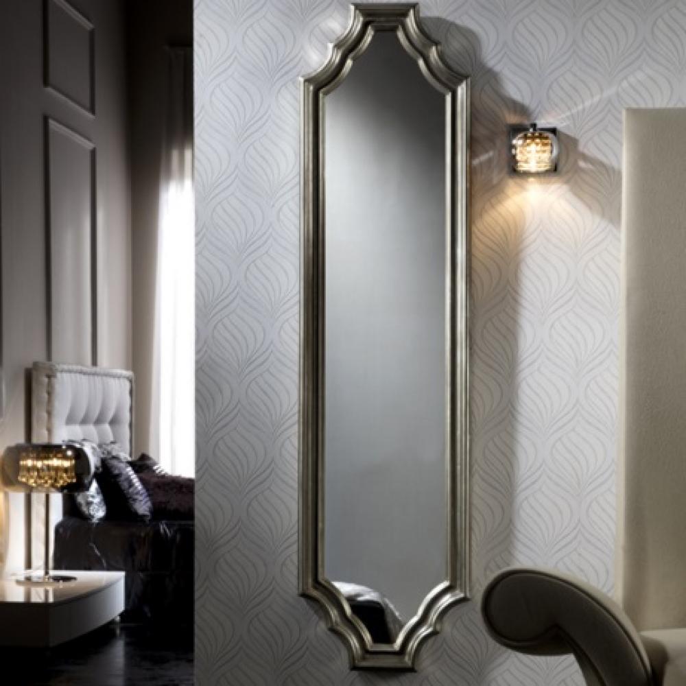Schuller atica espejo vestidor plata 816724 l mparas de - Lamparas para espejos ...