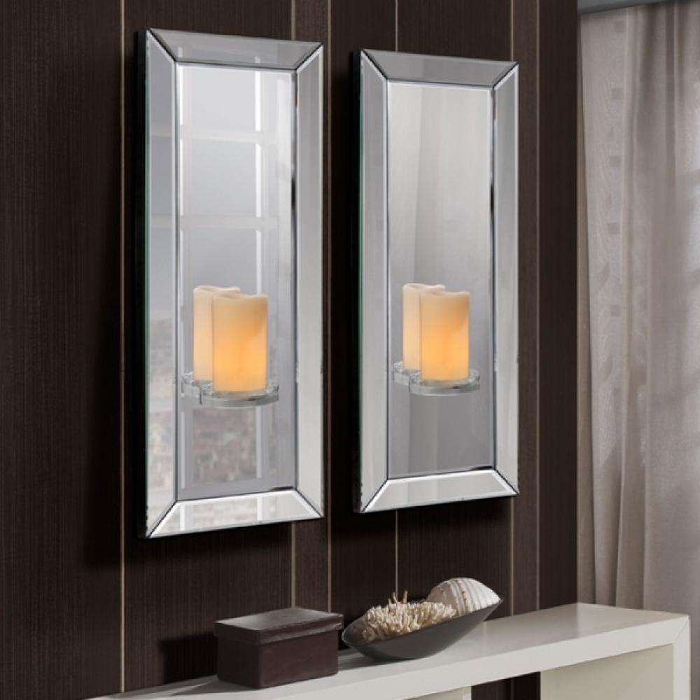 Schuller elisa espejo con repisa 22x60cm 743928 l mparas for Lamparas para espejos