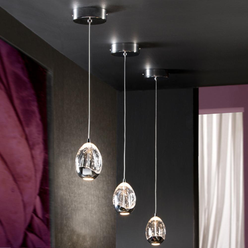 Schuller Rocio Lamp Pendant Lamp LED 5W Chrome 784326