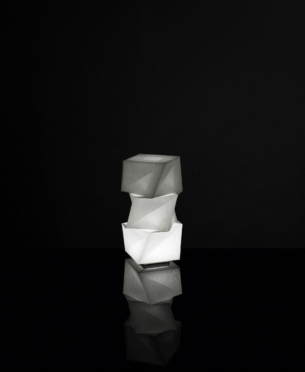 IN EI Mogura Mini Tischleuchte 43cm 10w LED 3000K weiß