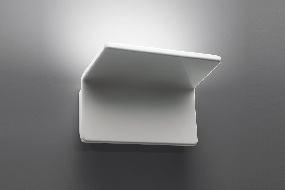 Artemide cuma wall lamp w led k white a lámparas