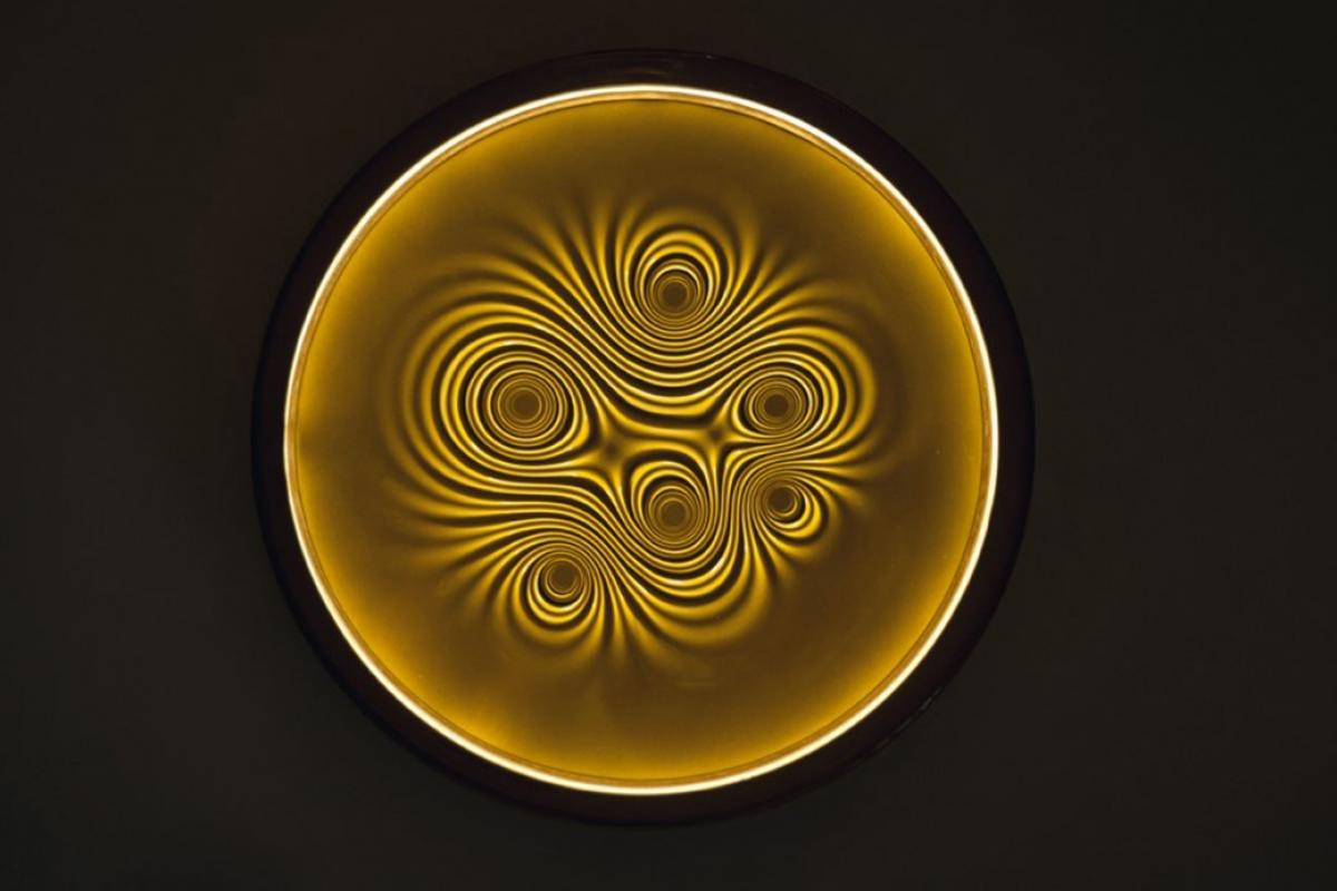 Artemide nebula wandleuchte led w k cm a lámparas