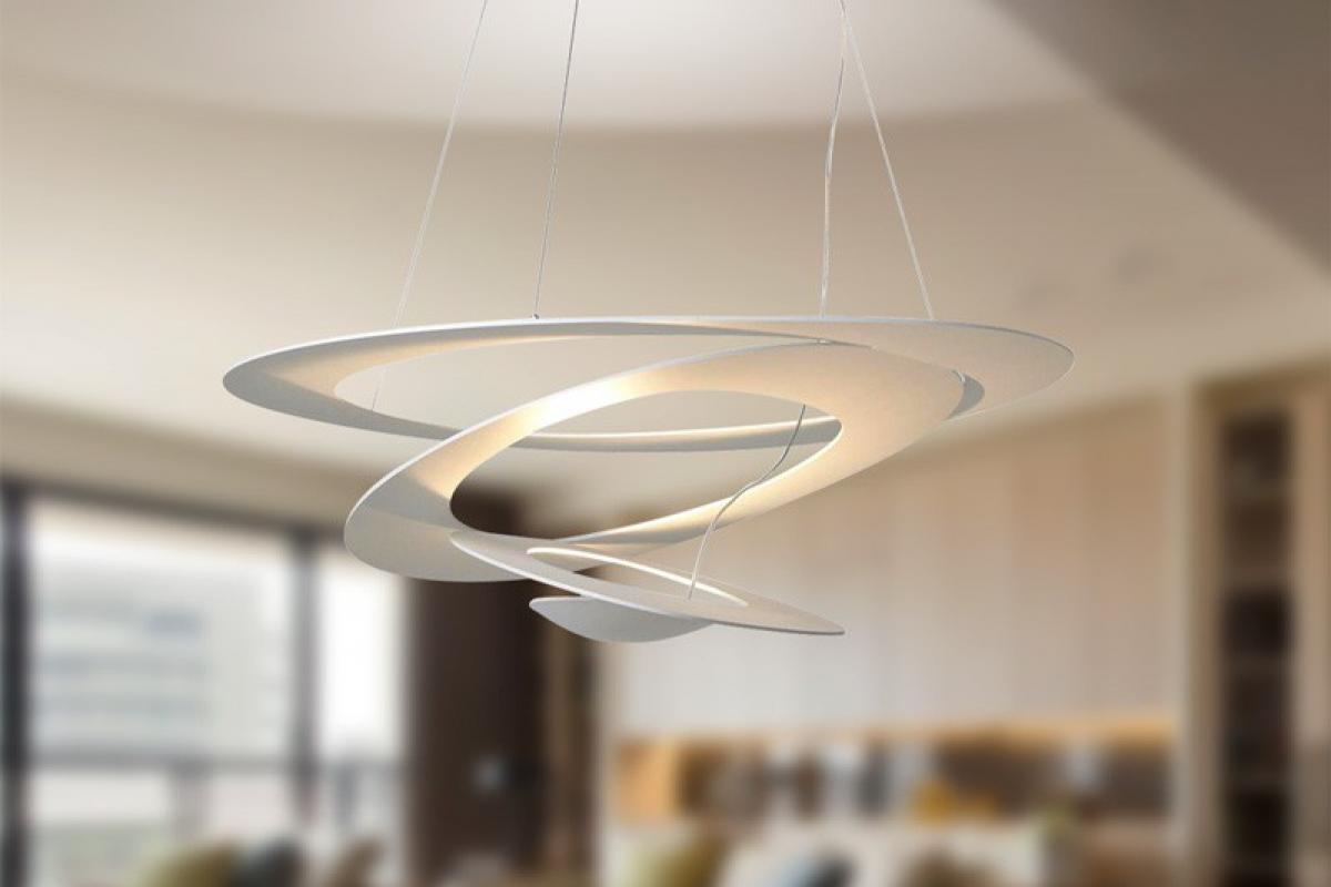 Artemide pirce applique w r s bianco a lámparas de diseño