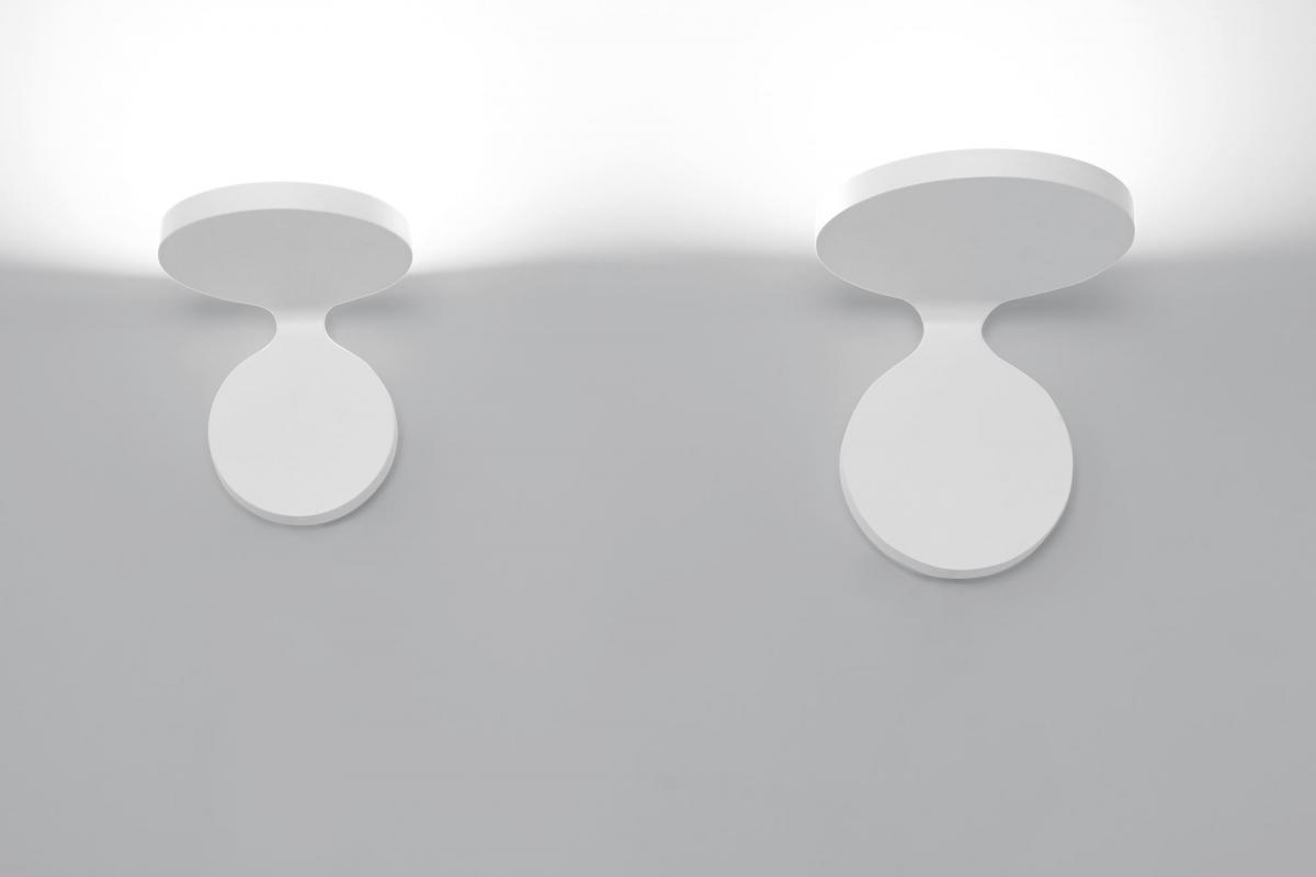 Artemide rea applique led w bianco a lámparas de diseño