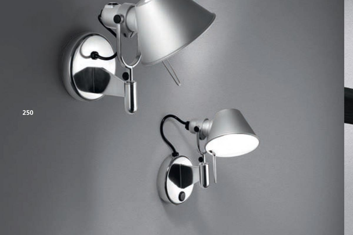 Artemide tolomeo micro faretto applique led w a lámparas