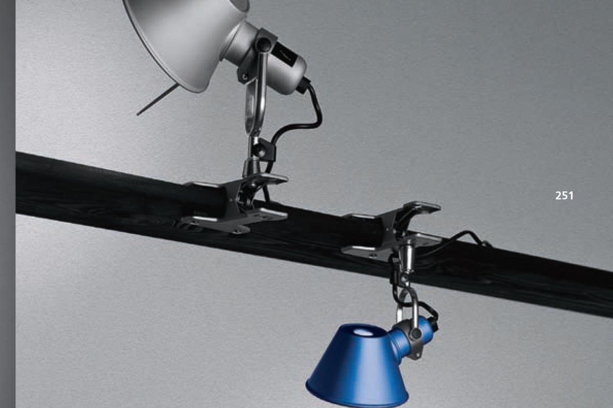 Acquista artemide tolomeo pinza lampada con morsetto lampade