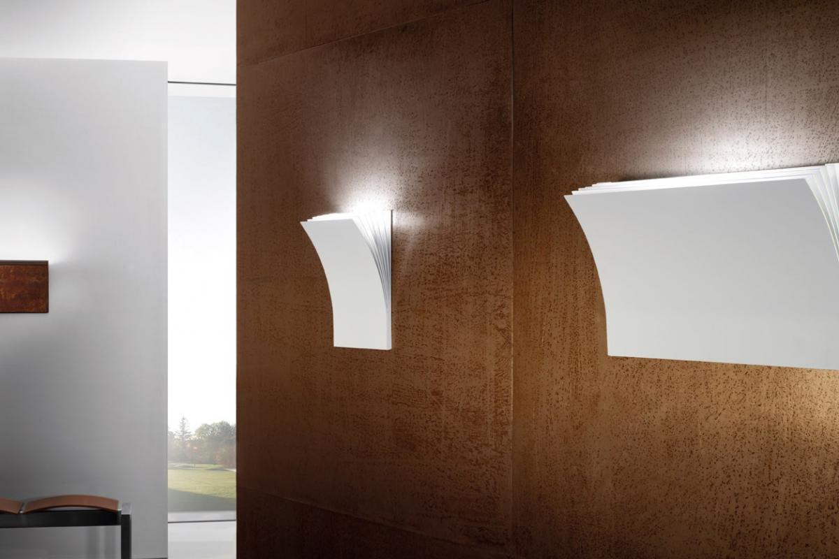 Axo light polia p applique halo. 120w bianco e appoliapgrxxr7s