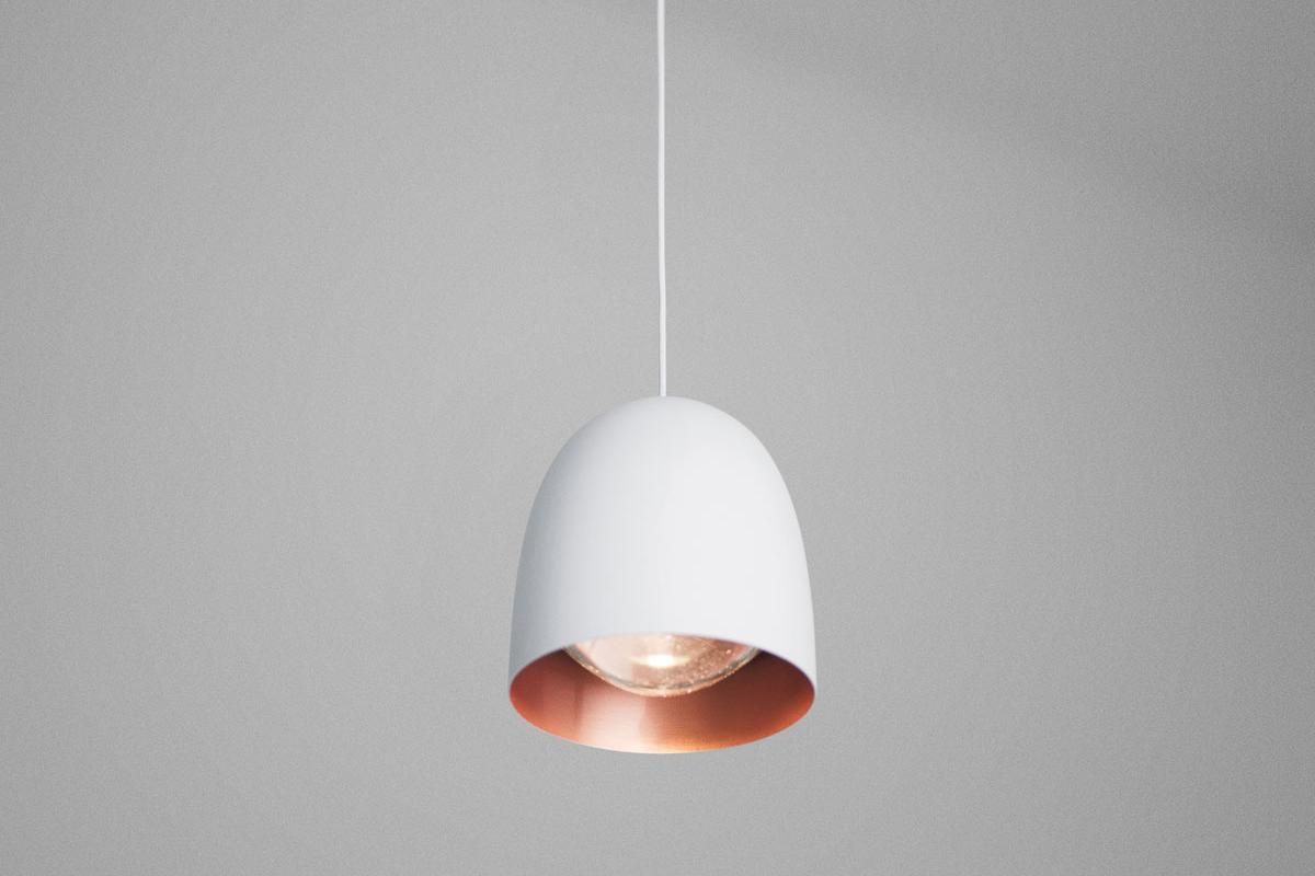 S1 Led Lampe 9w Suspension Blanc Speers BrillantCuivre Satin xBorCde
