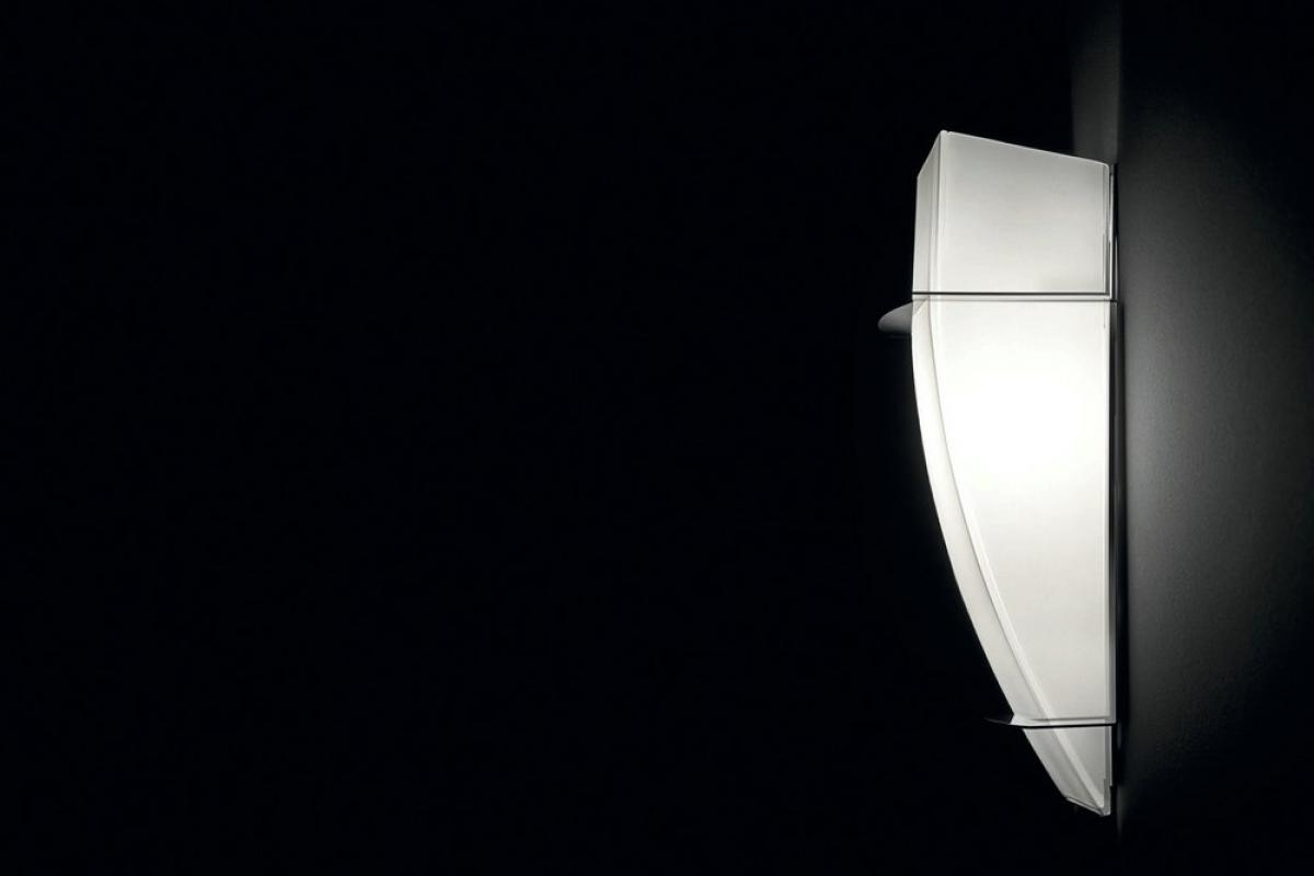 Estiluz A 8073a Wall Lamp Nickel Opal 080733700a