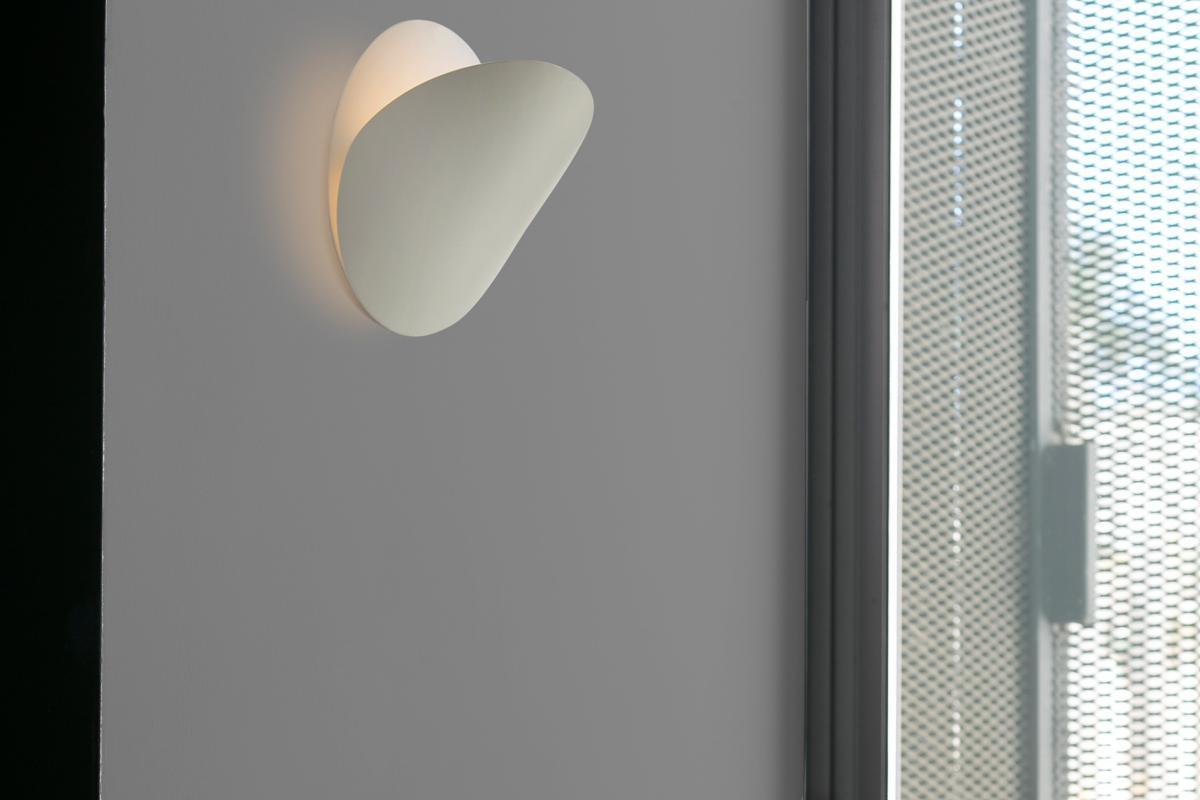 Faro ovo g applique beige mat r s mm lámparas de diseño