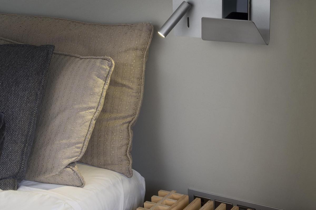 Faro suau applique con lector bianco led w lámparas de diseño