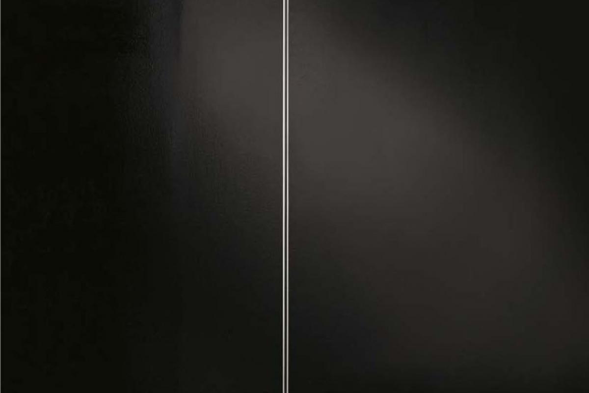 Nuova Segno Tre (Struttura) lámpara di Lampada da terra ø24x173cm 1x205w  B15d Grigio Claro