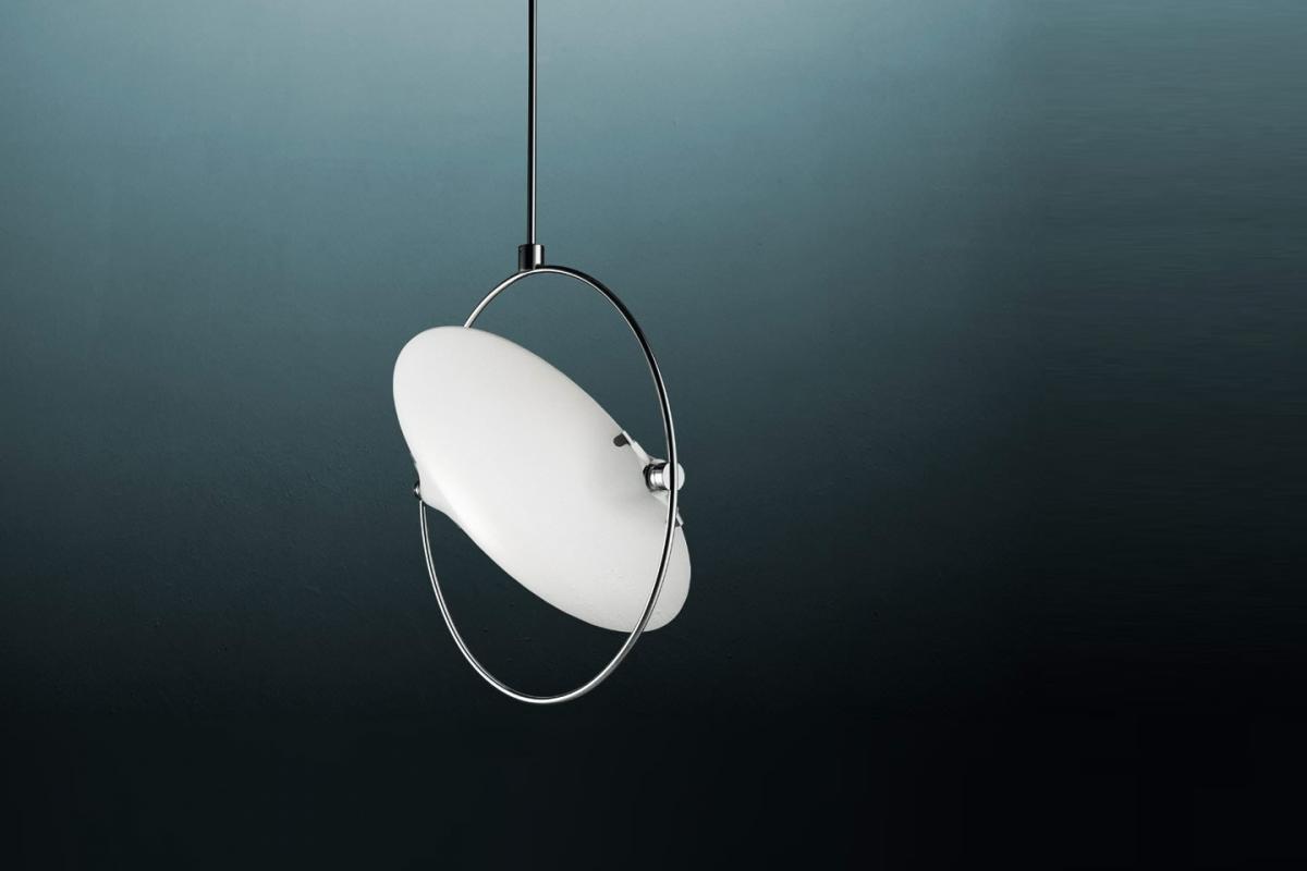 Fontana Arte Nobi Pendant Lamp 4 Lights 35x36x65 80 3597g