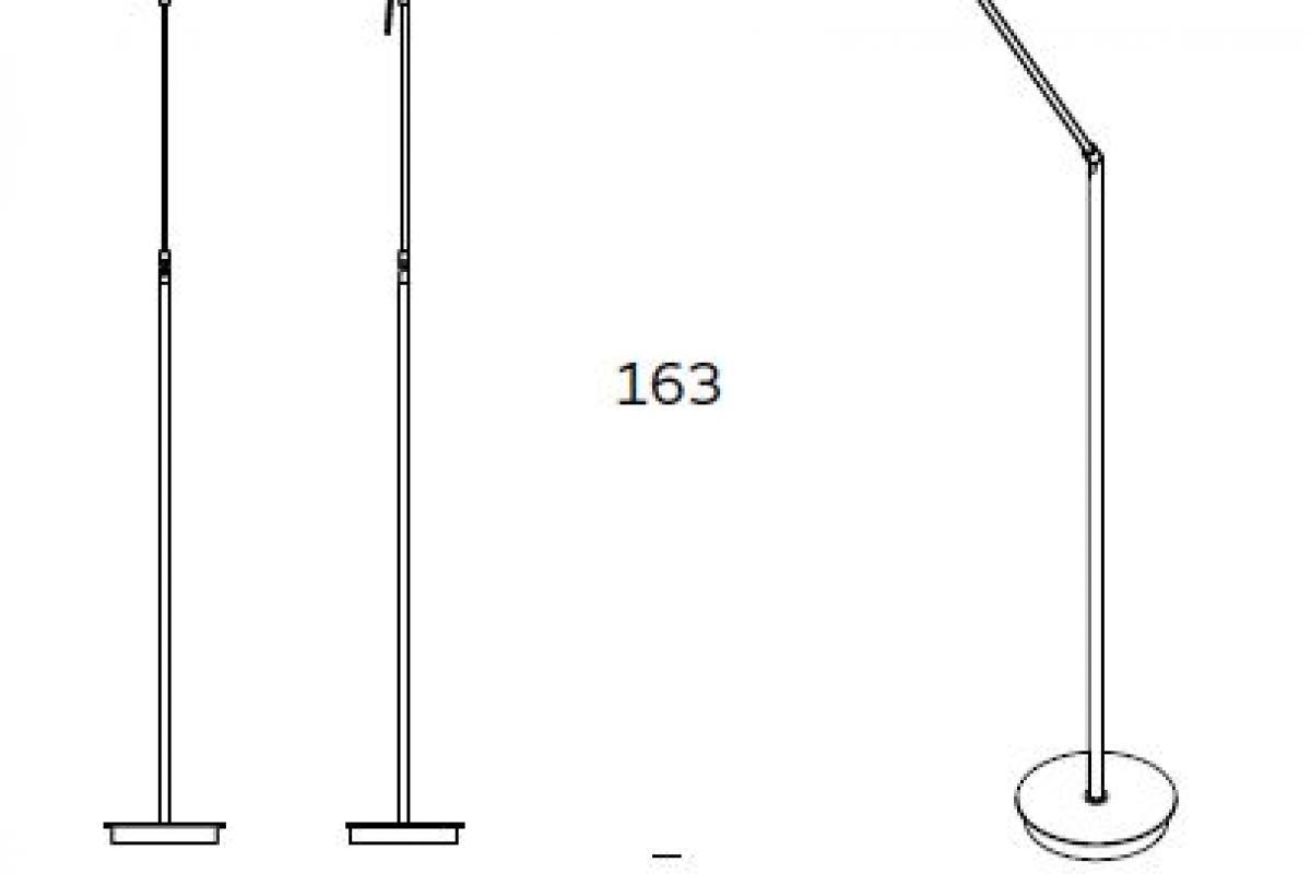 Lampada Da Tavolo Naska : Fontana arte nobi lámpara di lampada da terra cr