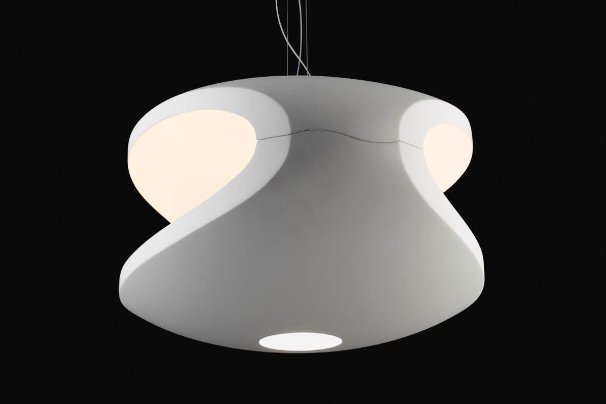Lampade A Sospensione Foscarini : Foscarini o space lampada a sospensione bianco
