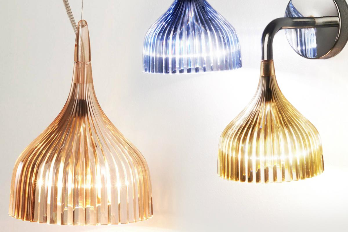 Kartell e applique 1xe14 28w 9045 lámparas de diseño