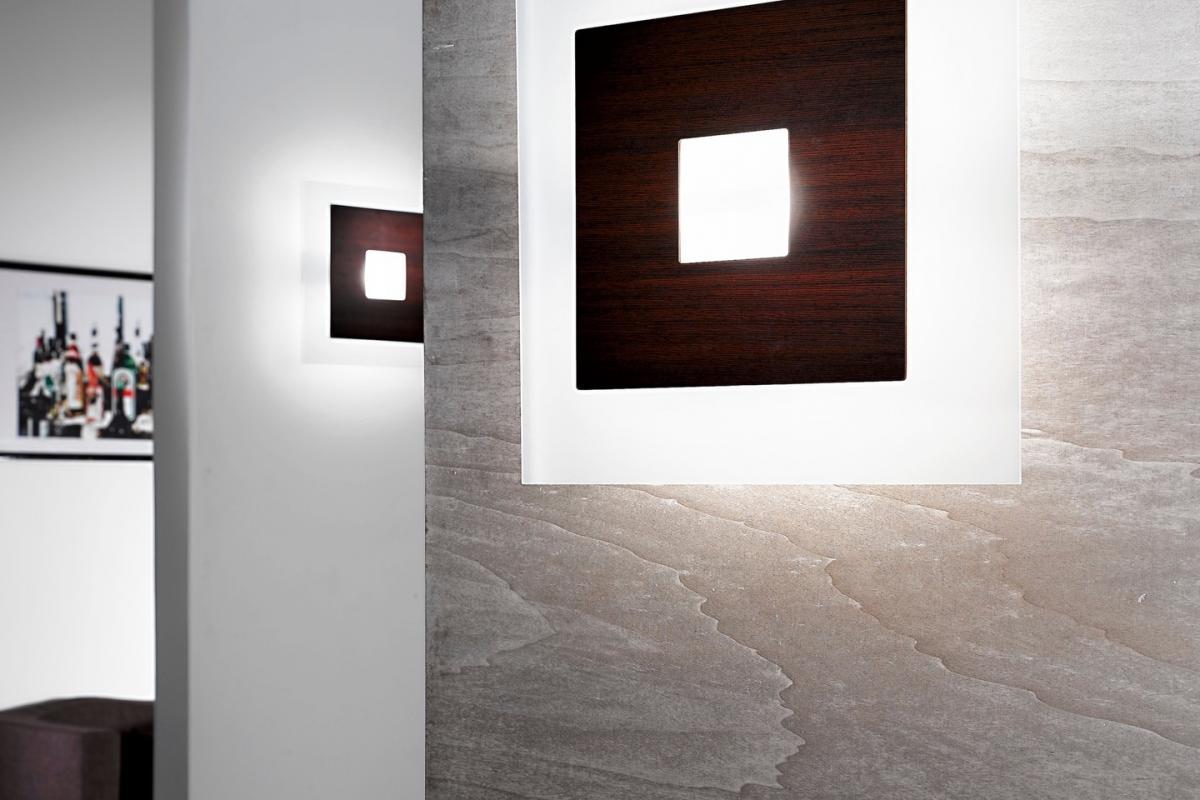 Linealight forum applique plafonnier l wengé 6572 lámparas de diseño