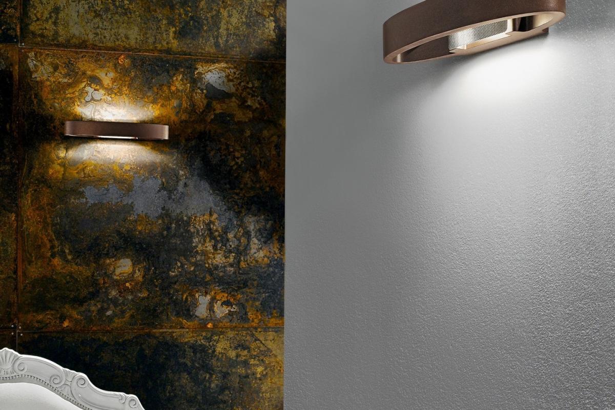 Linealight heli applique grigio lámparas de diseño