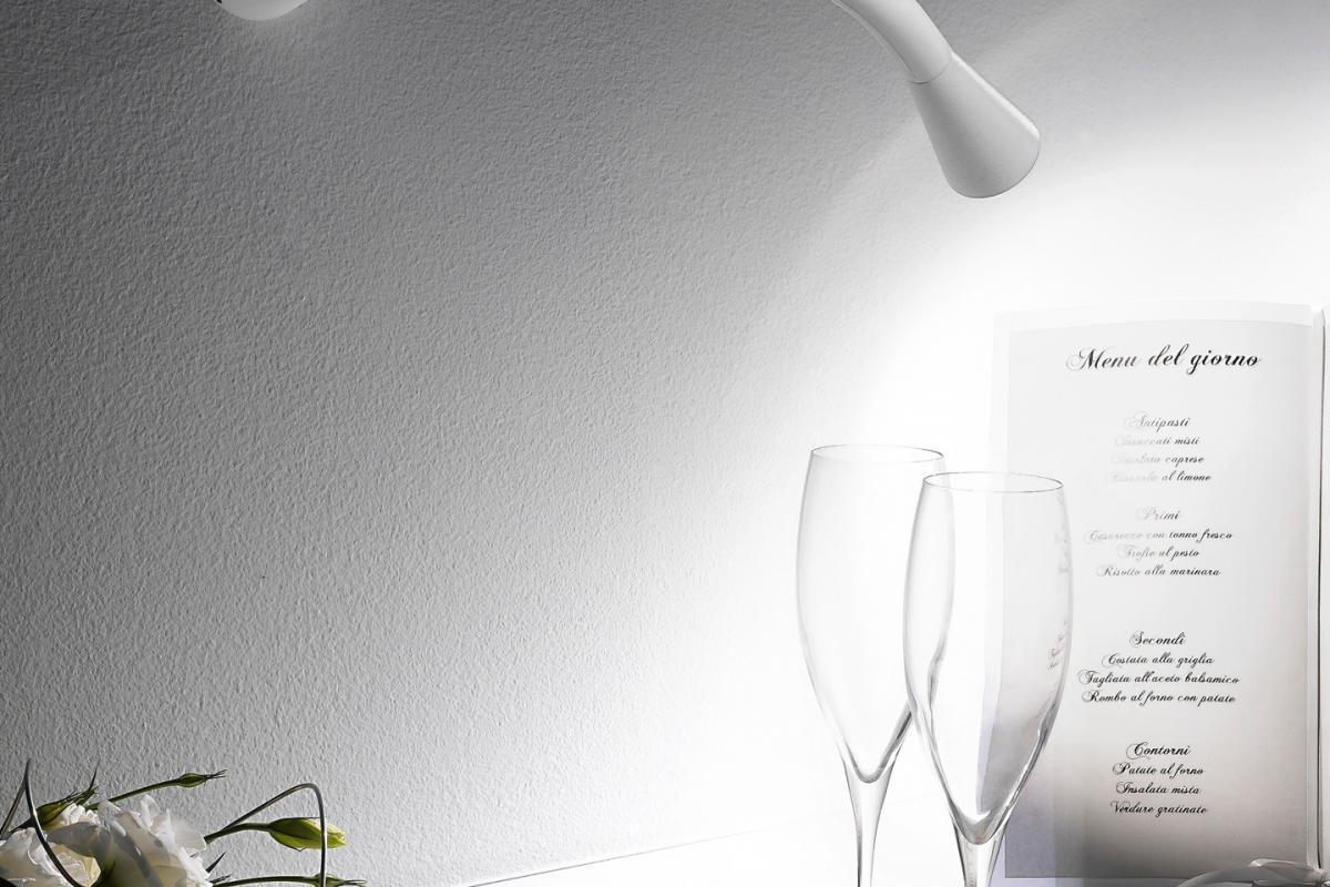 Linealight snake applique orientabile arrotondato lámparas
