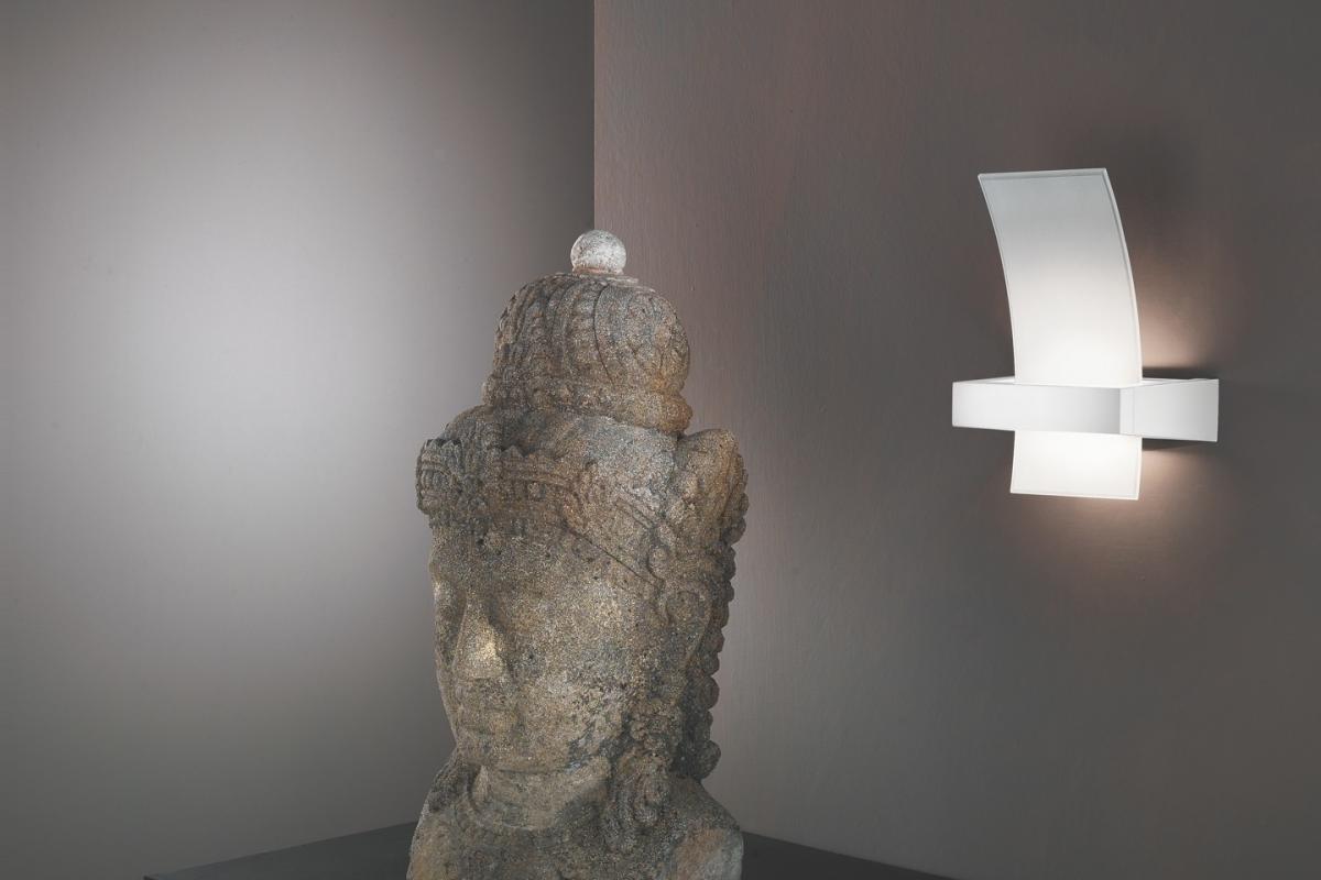 Linealight wood applique wengé 52cmx47cmx15cm 90115 lámparas de diseño