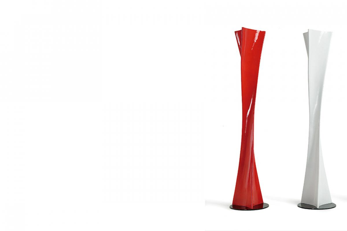 Mantra Twist Lámpara De Lampadaire Salon Blanc 0585l Lámparas De