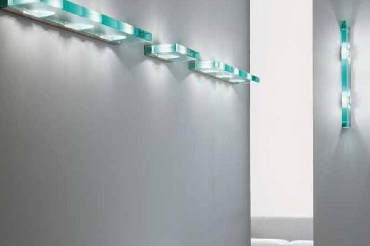 Oty light jek 100 p applique extra vetro 3jek100p4ct lámparas de