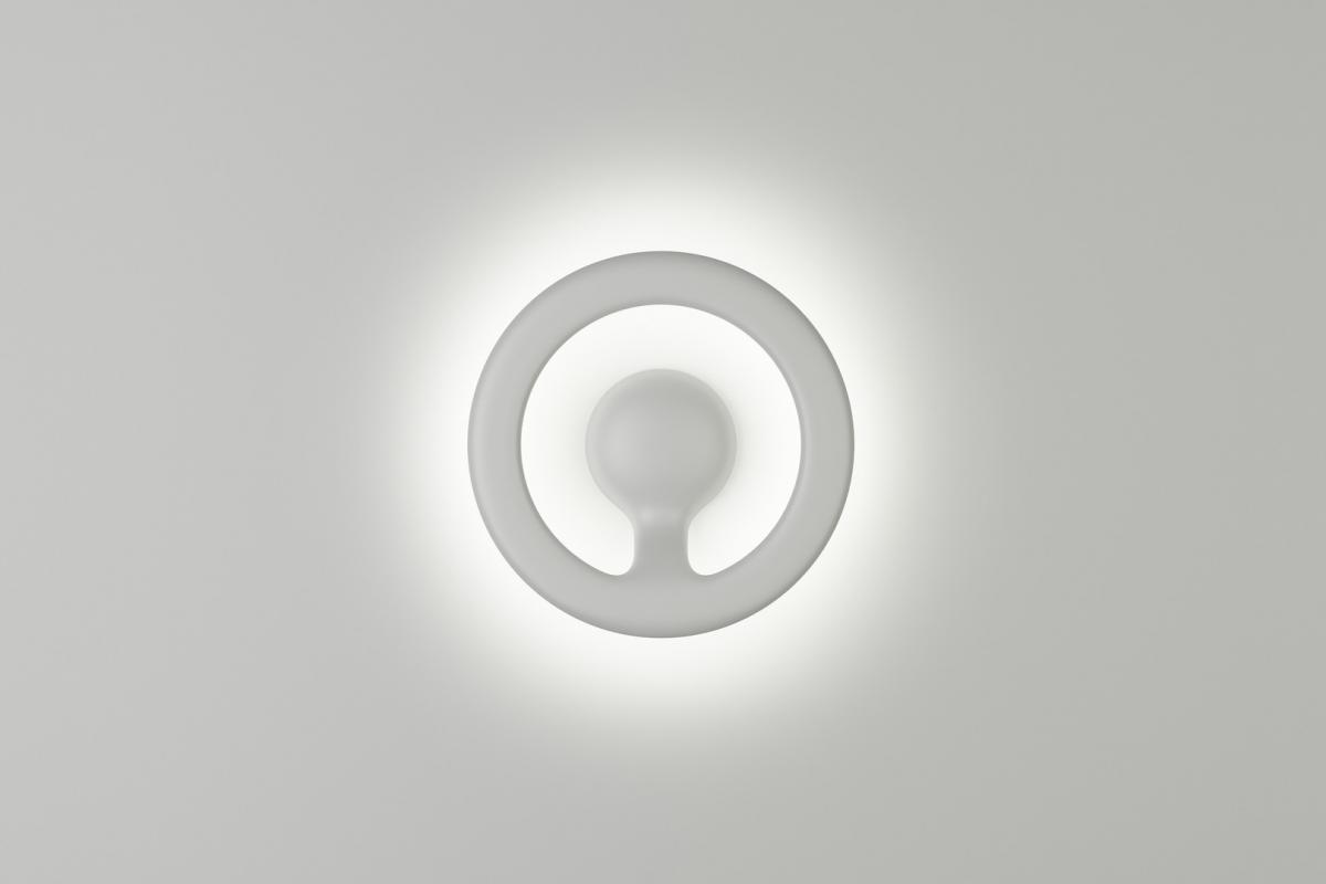 Flos orotund applique circulaire ø24cm led f4090009 lámparas de diseño