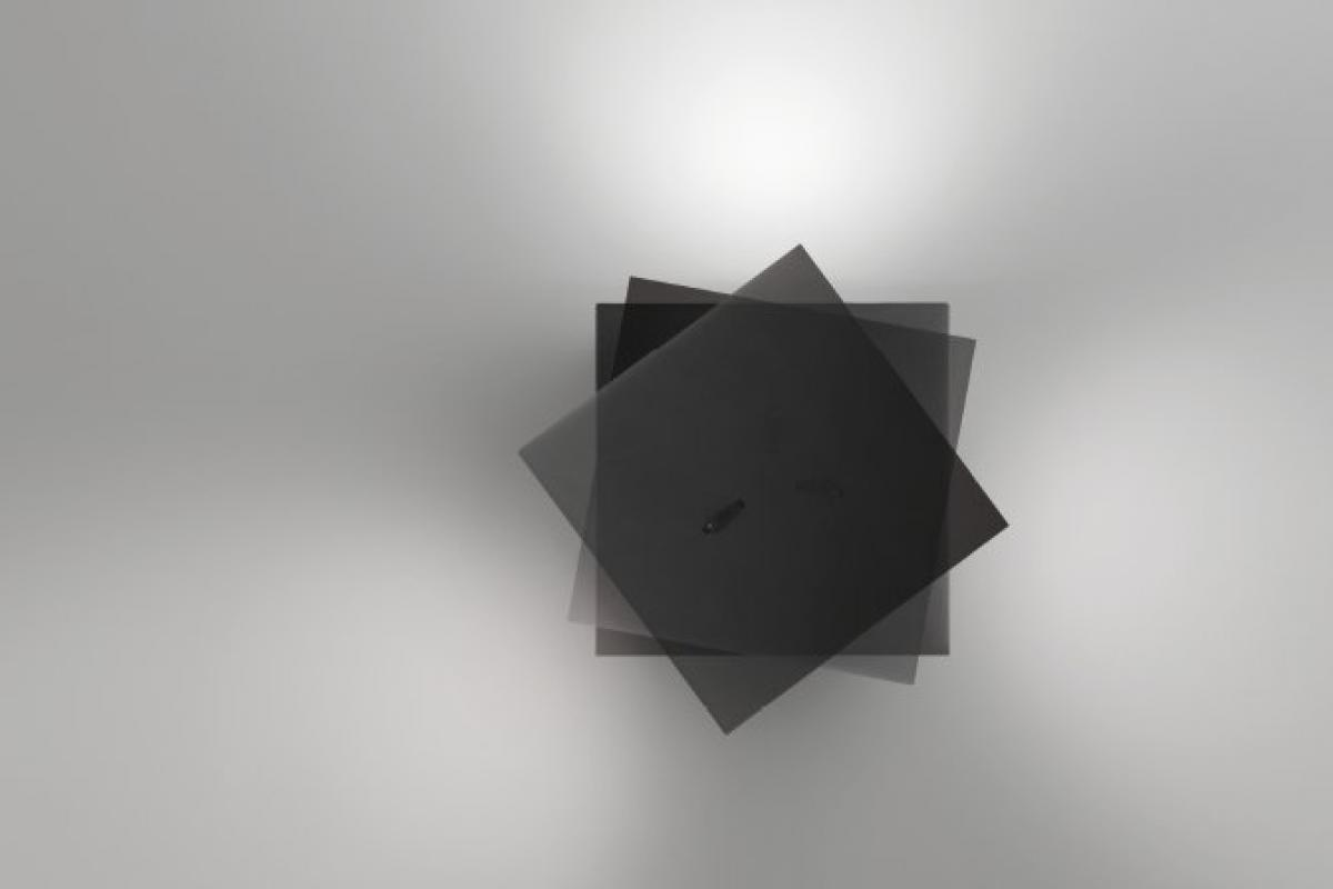 Vibia alpha applique quadrata laccato bianco lámparas de