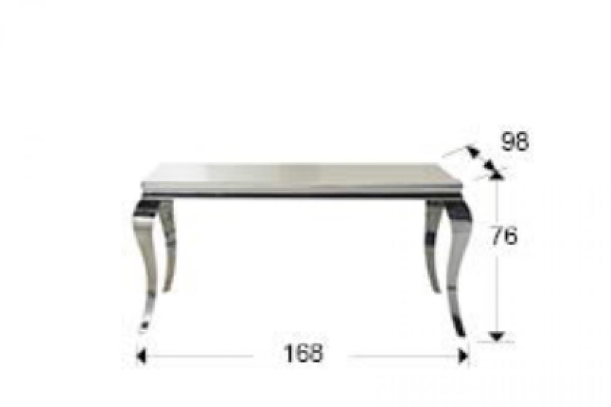 Schuller barroque mesa de comedor 208x76x108cm 792107 - Lamparas schuller ...